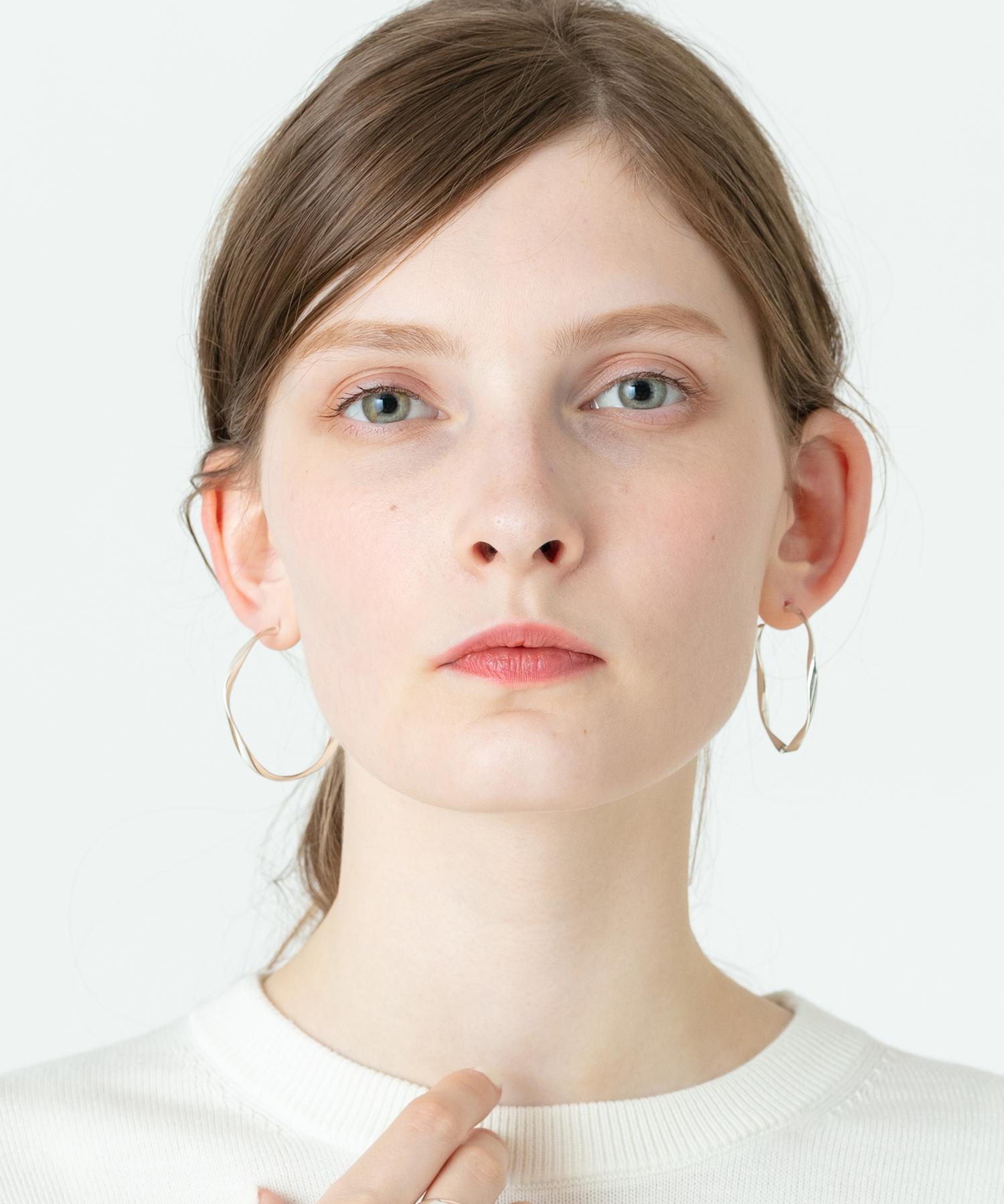 【PHILIPPE AUDIBERT(フィリップ オーディベール)】CHARLEE HOOP EARRINGS
