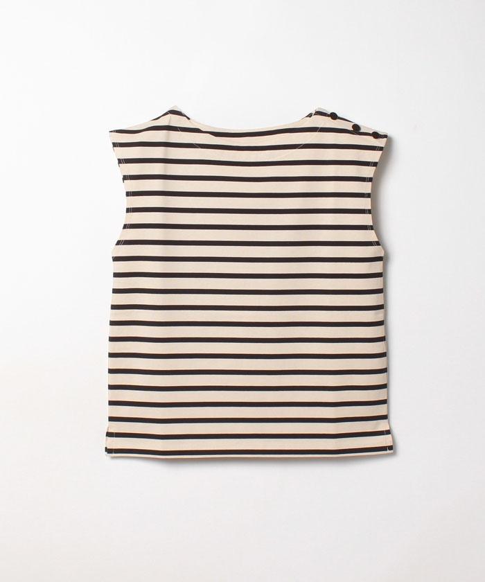 サイド釦バスクシャツ