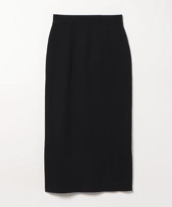 ウールWフェイスタイトスカート