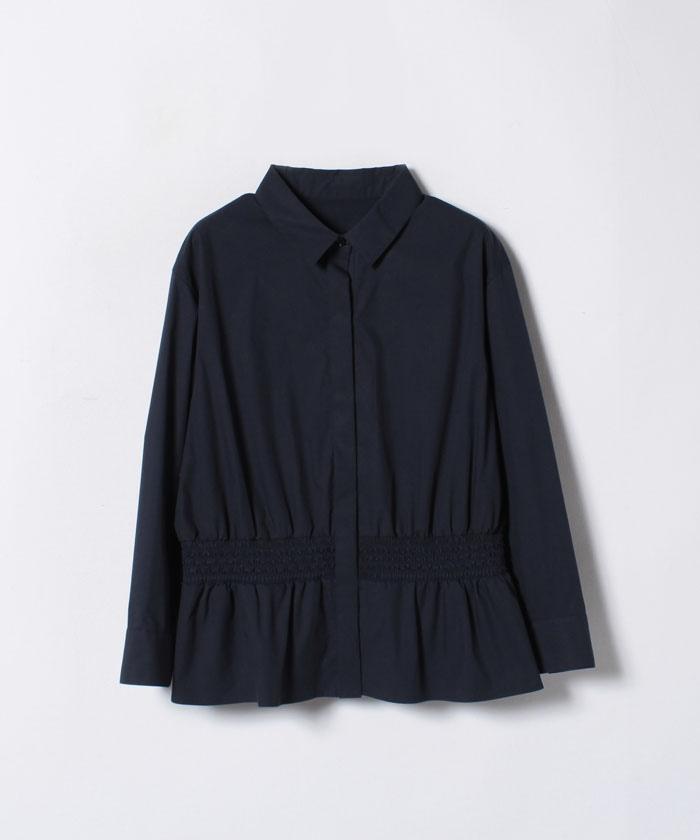 【TVドラマ着用】タイプライターぺプラムシャツ