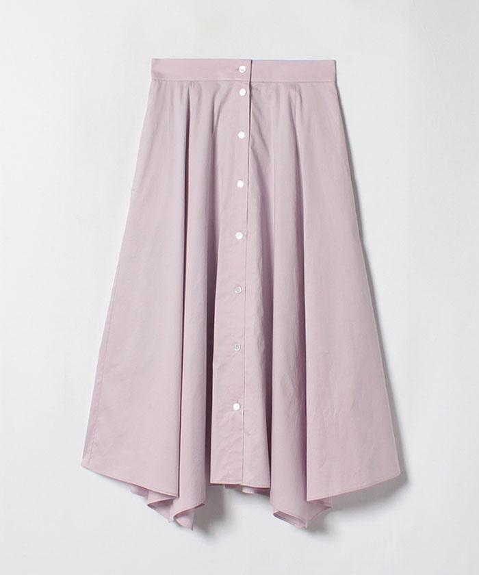 ツイルストレッチハンカチーフヘムスカート