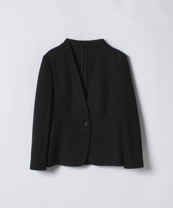 【セットアップ対応商品】ラッセルノーカラージャケット