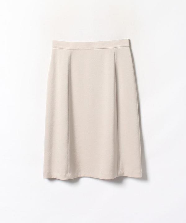 トリアセテートサテン切替スカート