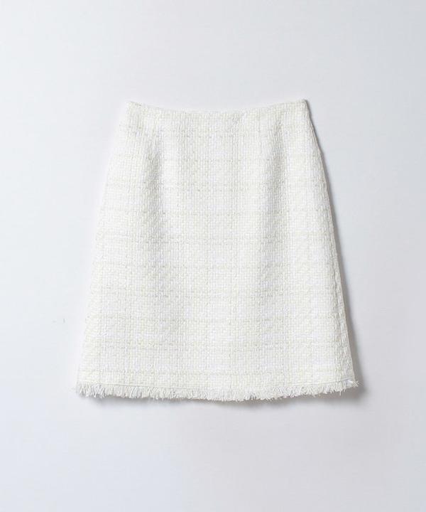 リリヤンツイードAラインスカート