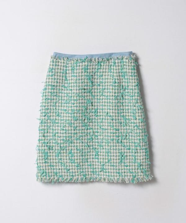 テープヤーンツイードAラインスカート