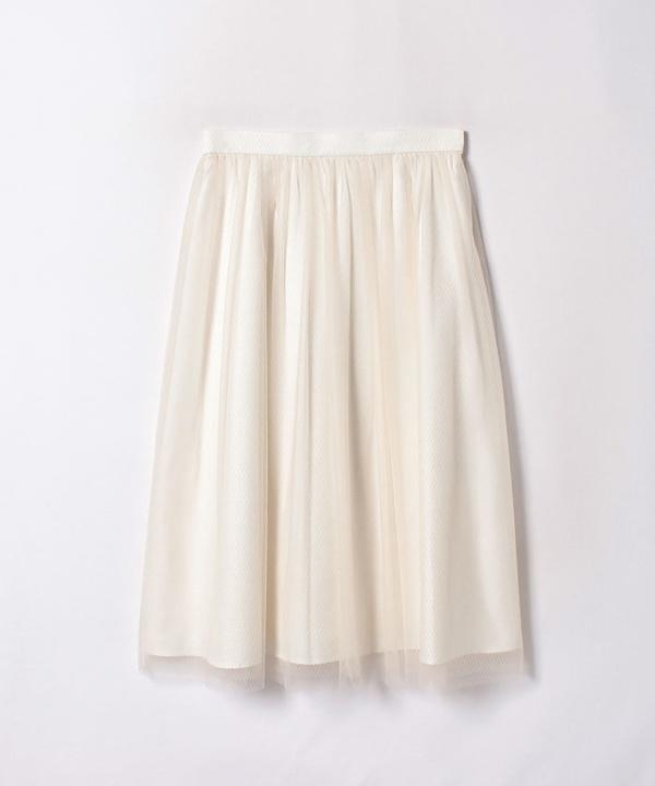 ダイヤチュールフレアスカート