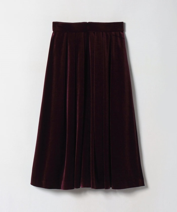 トリアセベロアフレアスカート