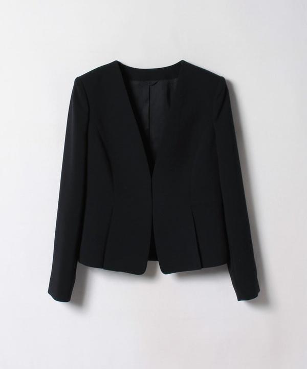 【セットアップ対応商品】ダブルクロスタックペプラムジャケット