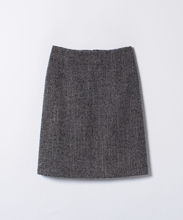【セットアップ対応商品】スピンループツイードAラインスカート