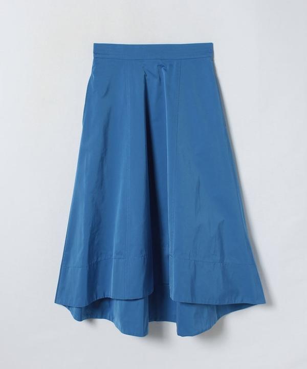 ハイカウントサテンロングテールスカート