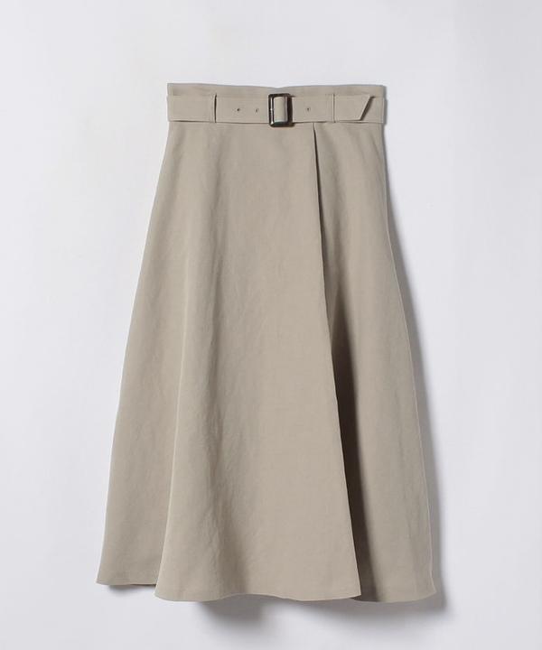 ★コットンリネンラップ風スカート