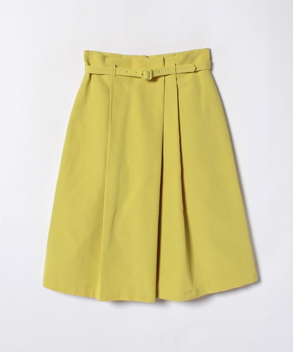 グログランタックフレアスカート
