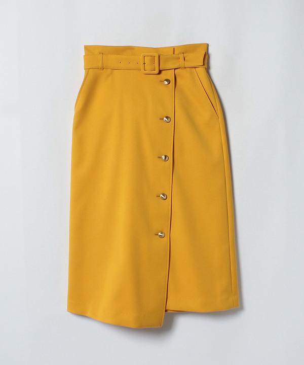 ダブルツイルラップスカート