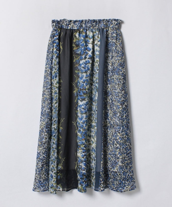 【セットアップ対応商品】コバナパネルプリントギャザースカート