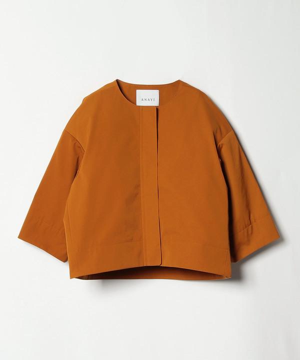 【セットアップ対応商品】コットンライクツイルショートジャケット