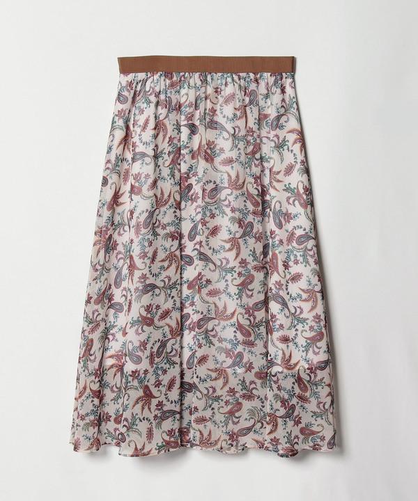 【セットアップ対応商品】スモールフラワーギャザースカート
