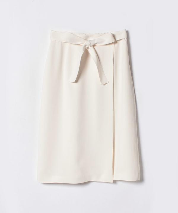 ダブルクロスラップスカート