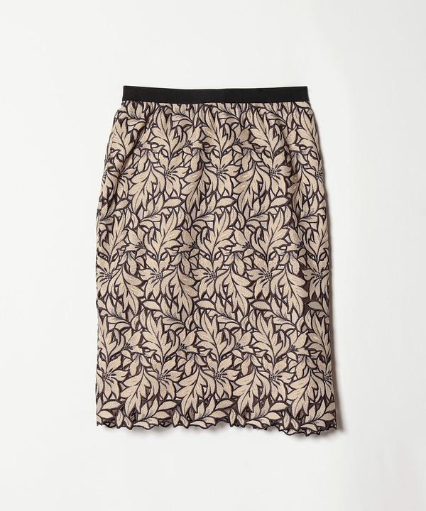 リーフケミカルレースタイトスカート
