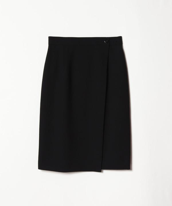 ウールジョーゼットタイトスカート