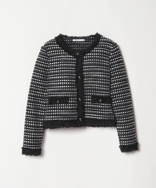 【セットアップ対応商品】メンポリエステルモールスレッドジャケット