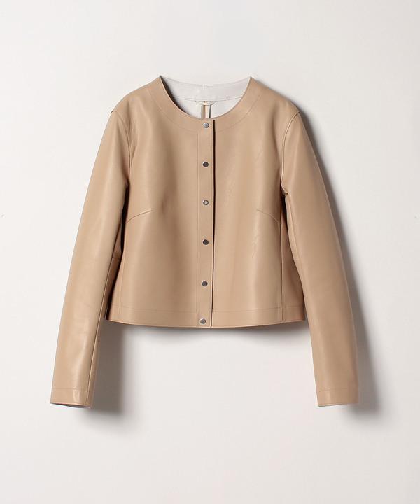 ★ラムレザーウラコーティングジャケット