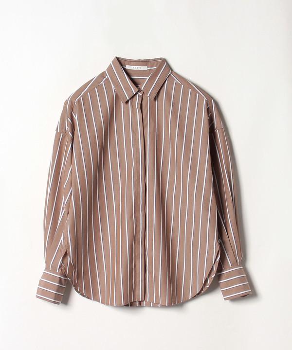 メンストライプ2WAYシャツ