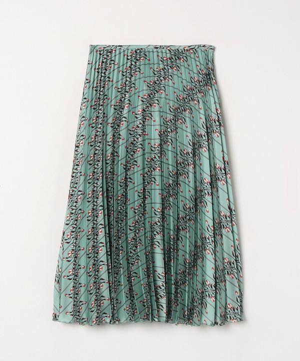 レトロフラワーPTプリーツスカート