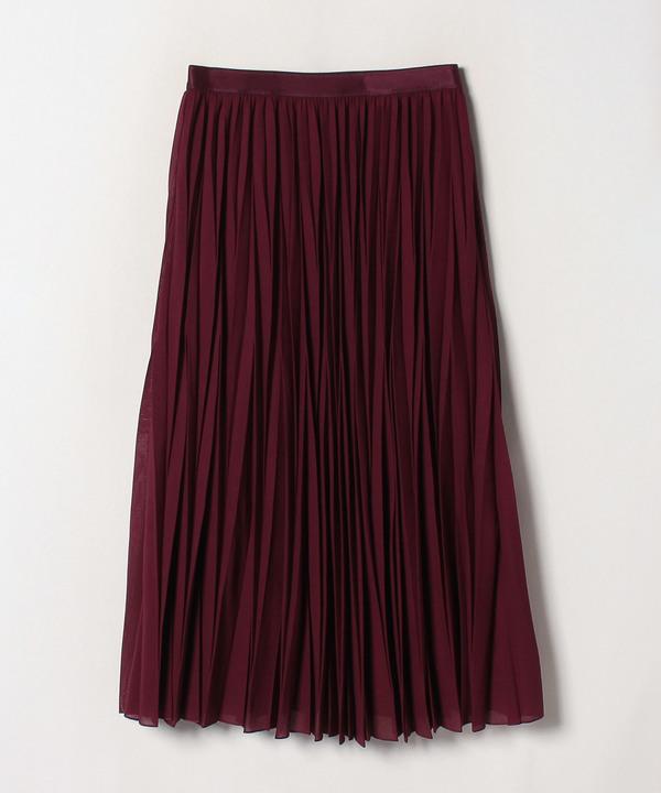 ハイツイストボイルプリーツスカート