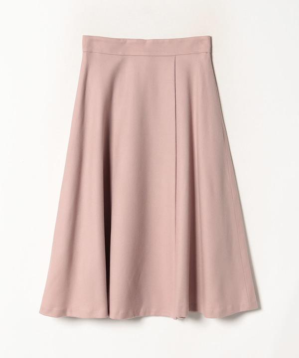 ウールサキソニーフレアスカート
