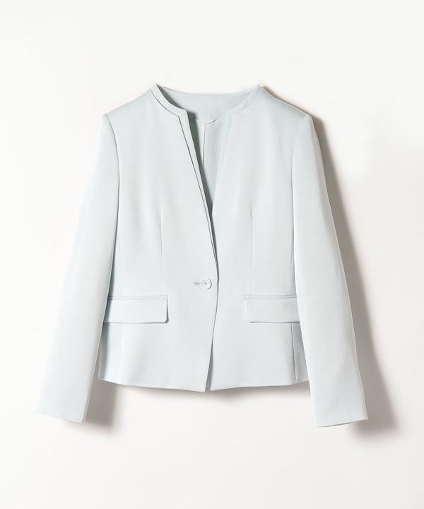 【セットアップ対応商品】トリアセテートサテンクルージャケット