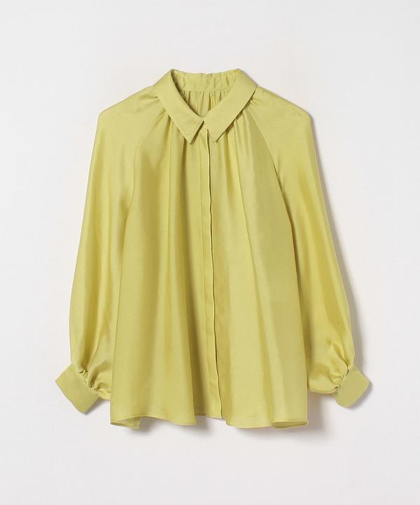 ライトシルクギャザーシャツ