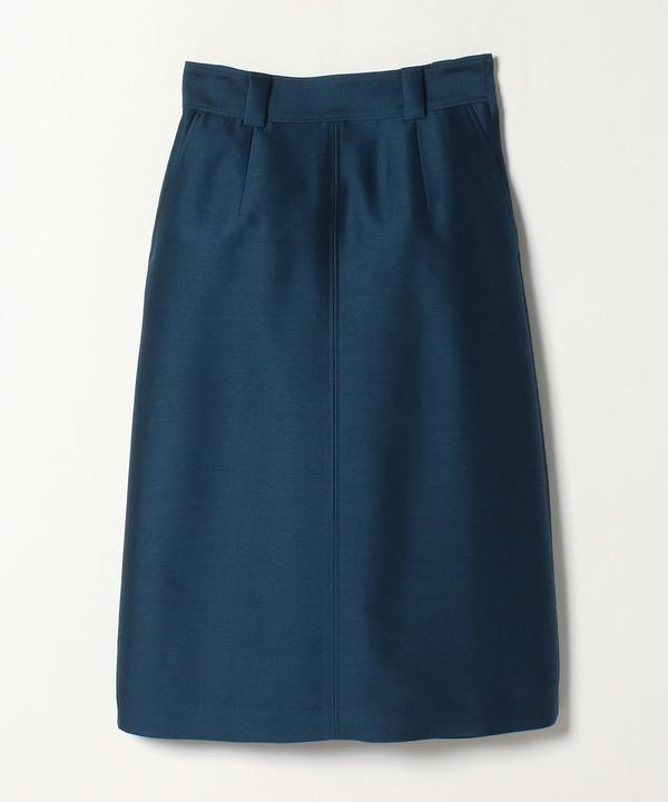 ウールシルクAラインスカート