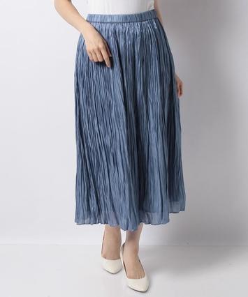【特別提供価格】プリーツロングスカート