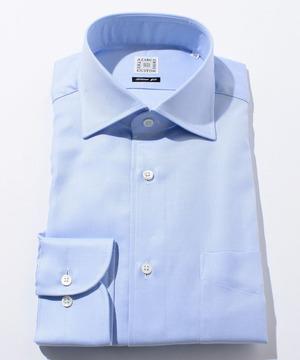 長袖シャツ(ツイル) ブルー
