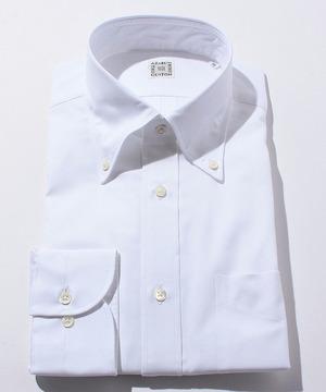 長袖シャツ(ピンオックス) ホワイト