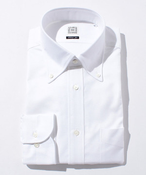 長袖シャツ(オックスフォード) ホワイト