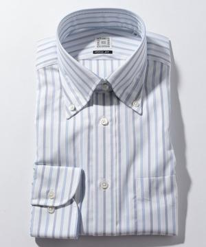 長袖シャツ(クラスターストライプ) ブルー