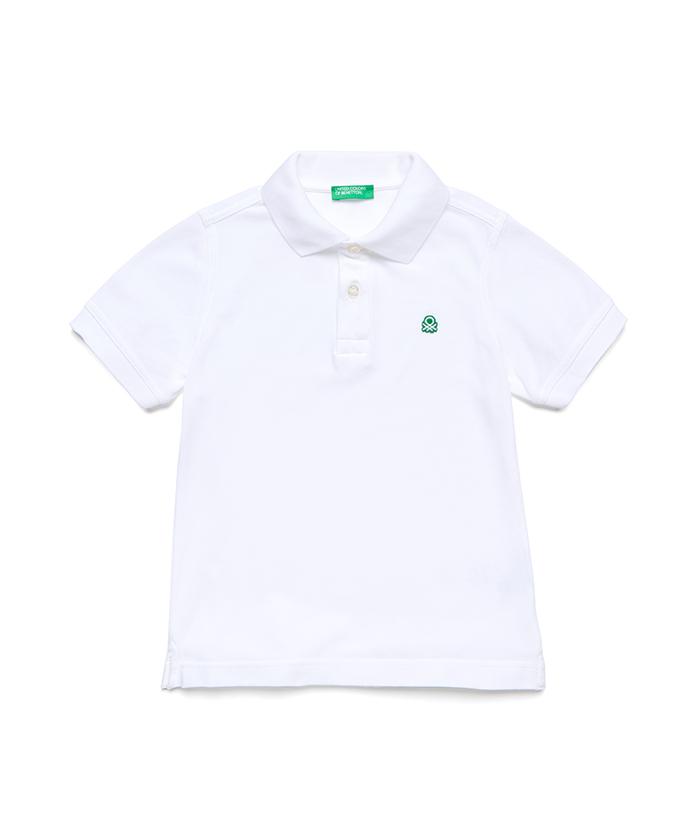 ベーシックアップリケロゴポロシャツ