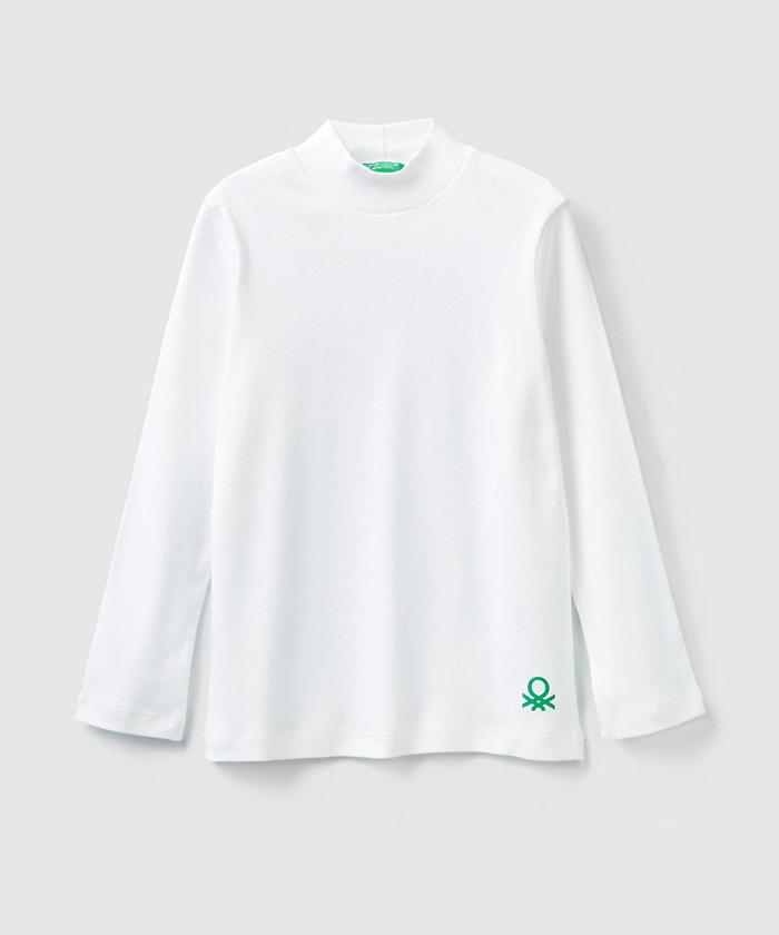 オーガニックコットンハイネックTシャツ・カットソー