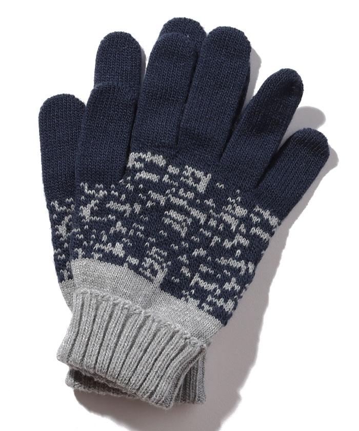 キッズストリートニットグローブ・手袋B