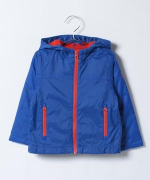 KIDS配色インナーフリースフードジャケット