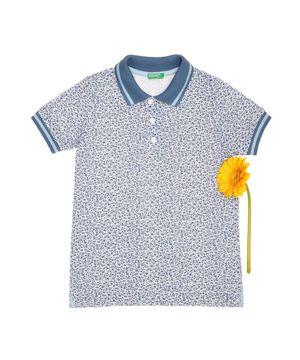 KIDS柄ポロシャツ