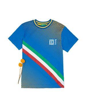 KIDSカルチョワールドプリントTシャツ・カットソー