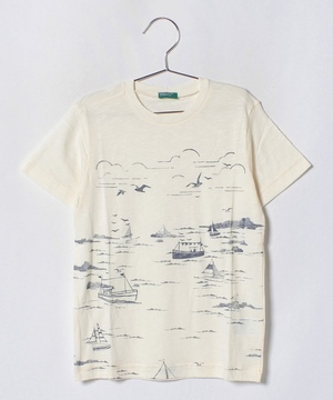 キナリプリントTシャツ・カットソー