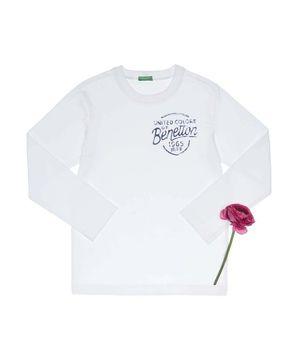 ベーシックプリント長袖Tシャツ・カットソー