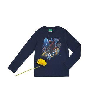 MARVELコラボ スパイダーマンプリント長袖Tシャツ(公式オンライン限定)