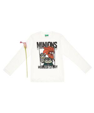 【BOYS】ミニオンズコラボ 長袖Tシャツ(公式オンライン限定)