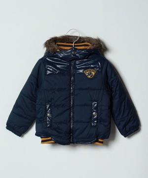 【BOYS】デタッチャブルフード中綿ジャケット