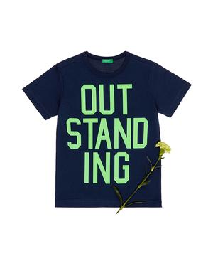 シンプルメッセージ半袖Tシャツ・カットソー