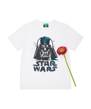 【STAR WARSコラボ】スター・ウォーズプリント半袖Tシャツ(公式オンライン限定)
